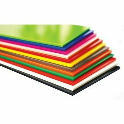 3mm Colour Perspex Acrylic Sheet Plastic Panel (Choice of colours & Sizes)