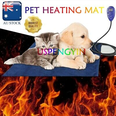 Thermal Protection Waterproof Pet Electric Heat Heating Heated Dog Cat Pad Mat