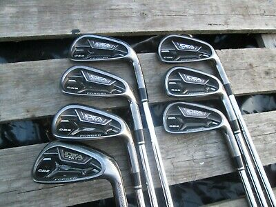 Adams Golf Idea Black Cb2 Forged Irons,4 To P/W,Mens Right Hand,Reg Flex.