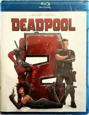 Deadpool 2 (Blu-ray + HD Digital Code, 2018)NEW-Free Shipping with Tracking