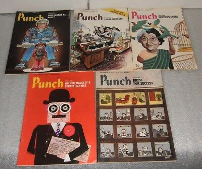Punch Magazine March 1977 (5 issues)