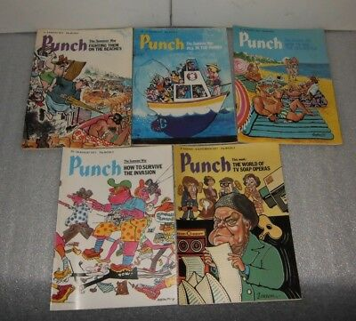 Punch Magazine August 1977 (5 issues)