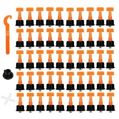50pcs/set Level Wedges Tile Spacers for Flooring Wall Tile Leveling System Tools