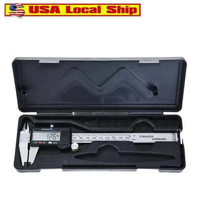 Neiko 01407A Electronic Digital Caliper Stainless Steel Body with Large LCD Scre