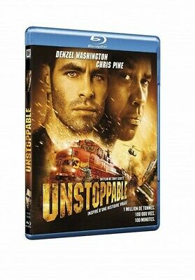 Unstoppable (Denzel Washington, Chris Pine) BLU-RAY NEUF SOUS BLISTER
