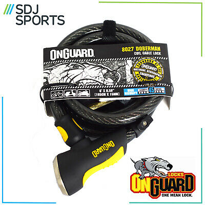 Onguard Doberman 8027 Bike Cable Lock Security For Cycle