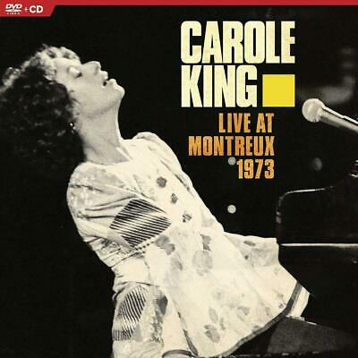 Carole King - Live at Montreux 1973 - New DVD + CD Album - Released 14/06/2019