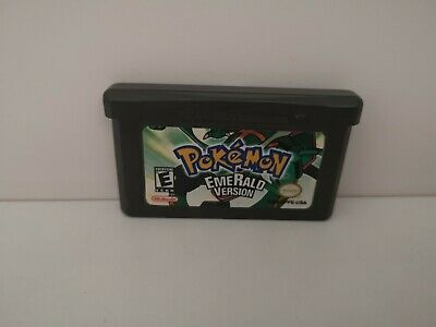 POKEMON EMERALD VERSION   Nintendo Gameboy advance GBA  AGB-APFE-USA COPY