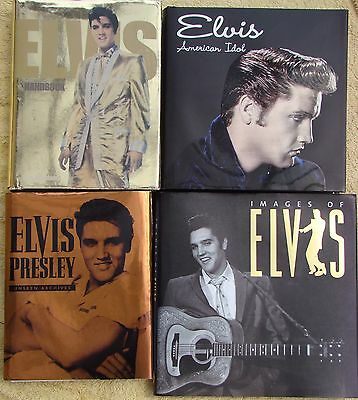 ♫ ELVIS PRESLEY  4 Elvis books - some rare - OOP - in great condition - lot 9 ♫
