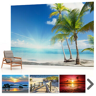 WALL MURAL PHOTO WALLPAPER PICTURE Beach Sea Ocean Tropical Sunset Landscape P