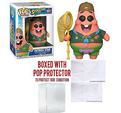 Funko Pop! Animation: Spongebob Squarepants - Patrick with Board w/ protector