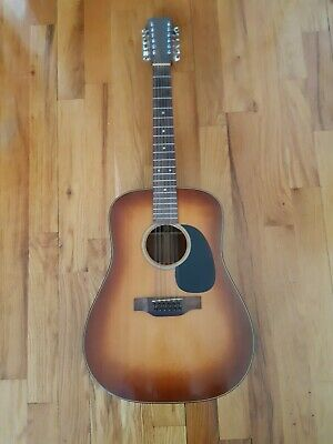 Martin D12-18 1979 Acoustic 12-string Guitar W/Pick-up & Case!  FREE SHIPPING!!!