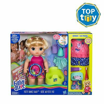 Girl Baby Alive Potty Dance Exclusive Value Pack (blonde Straight Hair)