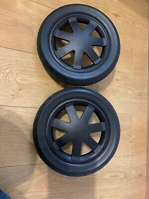 Quinny Buzz/ Buzz Xtra/ Moodd Black Foam Rear Wheels