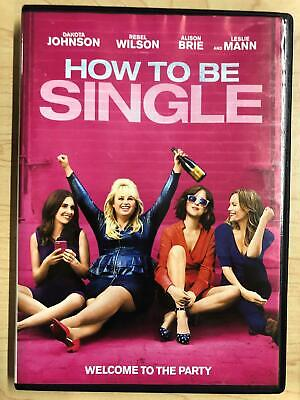 How to be Single (DVD, 2016) - F0519