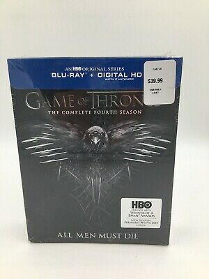 Game Of Thrones The Complete Fourth Season All Men Must Die Blu-Ray + Digital