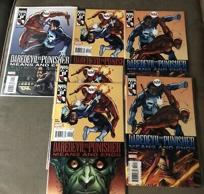 DAREDEVIL VS PUNISHER MEANS AND ENDS TPB NEW PTG REPS 1-6