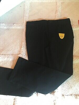 "GIRLS Or boys  Size 6 Cat And Jack School Uniform TWILL PANTS ""black"""