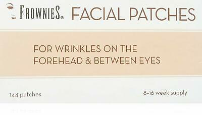 Forehead & Between Eyes Patches for Nighttime Wrinkles Minimizing 144pcs 3 Pack