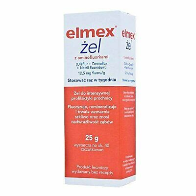 Gelee Gel - Extreme Cavity Care Prevention Use Once Weekly 25g 40 Brushes
