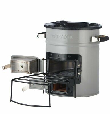 Portable Wood Burning Survival Charcoal Camp Stove for Camping Outdoor and RV