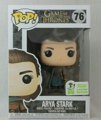 Funko Pop 2019 Spring ECCC Exclusive ARYA STARK Vinyl Figure 76 Game of Thrones