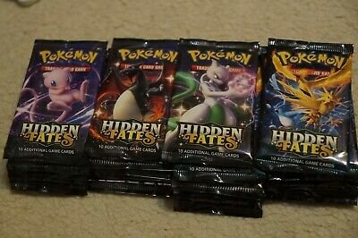 36 x Pokemon Hidden Fate Factory sealed booster packs (1 booster box)