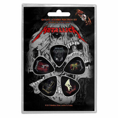 METALLICA Guitar Picks Plectrum Pack Official Licensed Band Merch