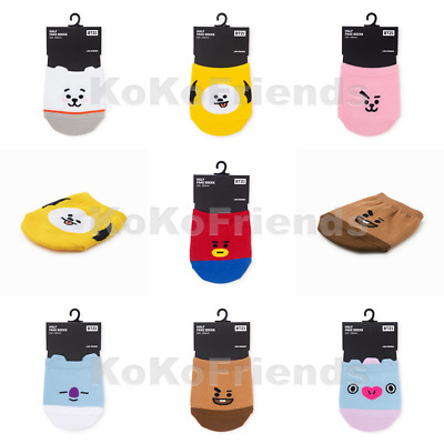 BTS BT21 Official Authentic Goods Half Fake Socks 230 250 mm Free Size KPOP Item