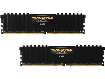 16GB DDR4 Corsair (2x8GB) CMK16GX4M2D3000C16 3000MHz Vengeance LPX BLACK RAM