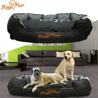 XXL Extra Large Jumbo Orthopedic Pet Dog Bed Dog Pillow Basket Kennel Waterproof