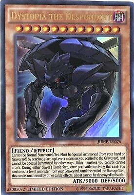 Dystopia The Despondent Yugioh Card - Free Shipping.
