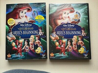 Disney The Little Mermaid Ariels Beginning (DVD 2008) Brand New*FrenchBilingual