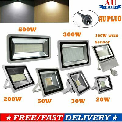 20/30/50/100/200/300/500W LED Floodlight  Outdoor Spotlight Waterproof SMD Lamp