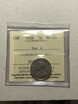 1926 CANADA FIVE Cents