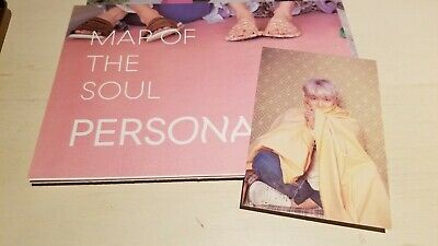 BTS RM Official Map of the Soul : Persona Postcard + Freebies