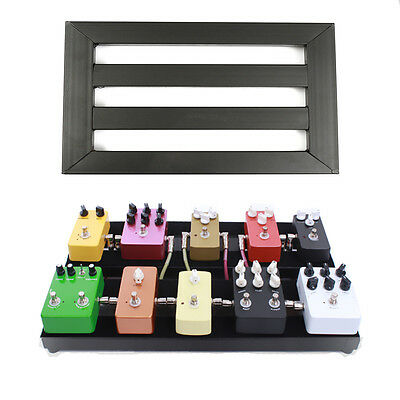 Alloy Pedalboards Effects Pedal Board Cases Electric Guitar + 10x Explant &