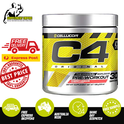 Cellucor C4 BERRY BOMB Flavour ORIGINAL ID Pre Workout Preworkout 30 serves