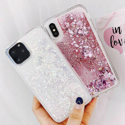 3D Dynamic Liquid Glitter Star Quicksand Soft Case For iPhone XS Max XR 8 7 Plus