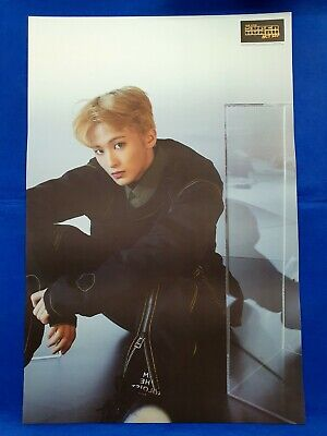 NCT 127 - NCT #127 We Are Superhuman Unfolded Official Poster Hard Tube Case NEW