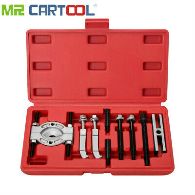 9pc MINI Bearing Puller Separator Set Pull Out Jaw Gear Pulley Removal with Case
