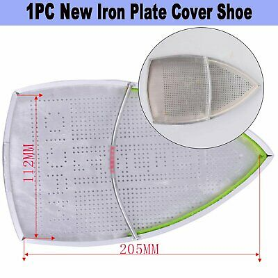 Home Teflon Aluminum Made Industrial Electric Iron Plate Shoe Protective Cover