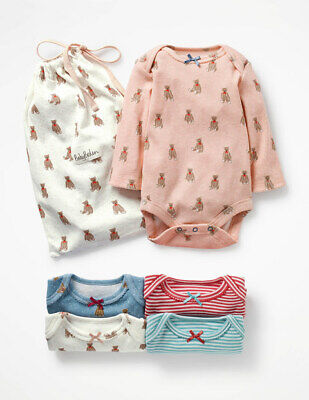 Ex Baby Boden Girls Peter Pan Spotty Dotty Bodysuits Tops Age N//B 3 6 12 18 24