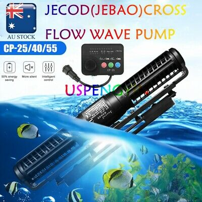AU Plug JEBAO JECOD CROSS FLOW CP-25W/40W/55w WAVE MAKER PUMP AQUARIUM REEF TANK