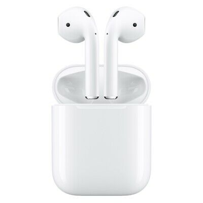 Apple AirPods inkl. Charging Case Bluetooth Headset weiß 2. Generation