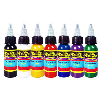 Solong  Complete Tattoo Kit needles 2 Machine Gun Power Supply 14 Color Ink Tip