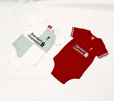 Liverpool FC Official Football Club Standard Chartered 2pk Bodysuit gift LFC701
