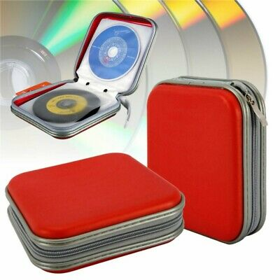 40 Disc  CD DVD Organizer Holder Double-side Storage Case Hard Wallet Album Set