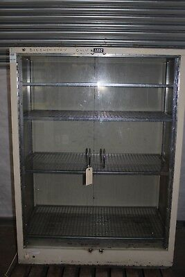 LEEC Laboratory Glassware Drying Cabinet 117 l x 60 w x 160cm h Type F1 240V