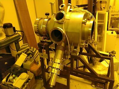 UHV Vacuum Chamber - Mill 320 SiO NBA's 50 Edwards Butterfly Valve Diff Pumps